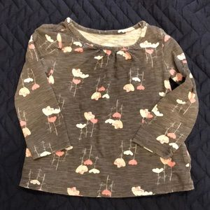 Jumping beans long sleeved top 2T